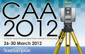 Computer Applications and Quantitative Methods in Archaeology (CAA) 2012 conference